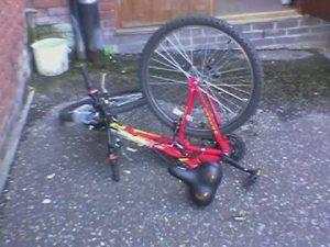 Mangled bike
