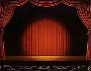 Theatre stage curtains