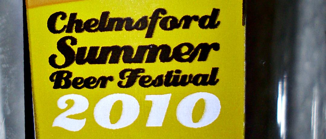 Chelmsford Beer Festival 2010 header