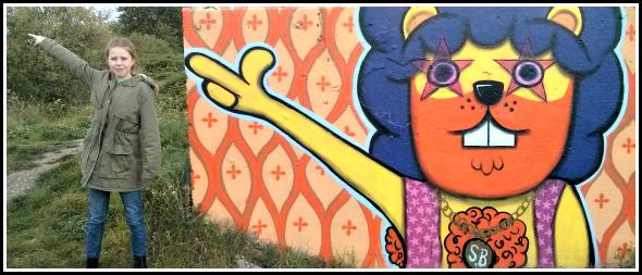 Graffiti in Chelmsford: God is gay