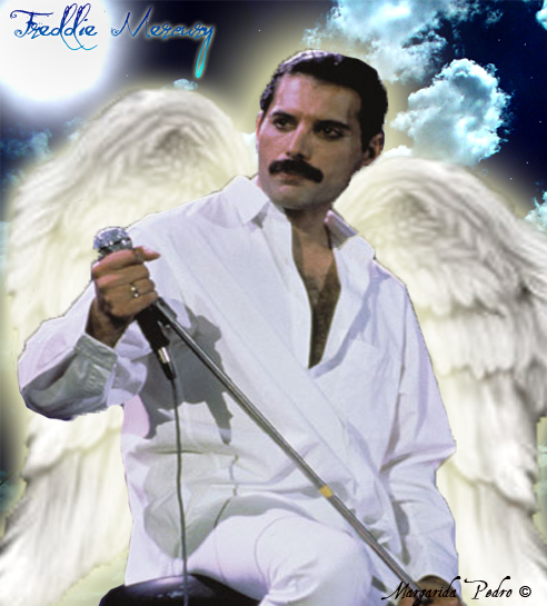 Freddie Mercury Angel - Taken from rippedjeansx on DeviantArt