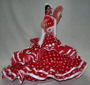 Red Spanish dress