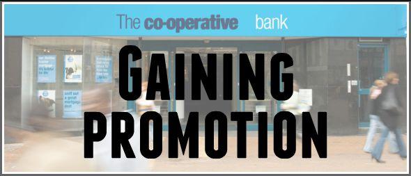Last weeks news – Gaining promotion