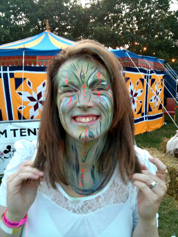 Avatar Loz at Chelmsford Fling Festival