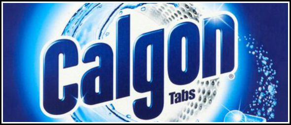 Washing machines live longer with Calgon