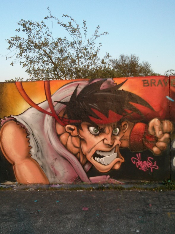 Ryu Graffiti in Chelmsford - Taken from My Sunday Photo - Graffiti in Chelmsford by DannyUK.com