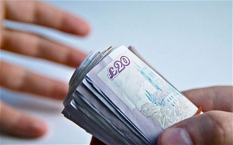 Footballers taking bribes
