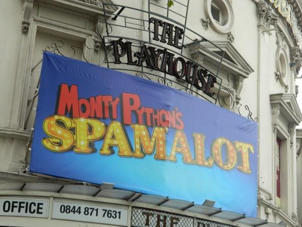 Spamalot at The Playhouse