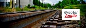 Train tracks header downloaded from stevehallman dot com