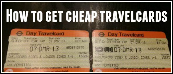 How to (legally) get cheaper Travelcard tickets