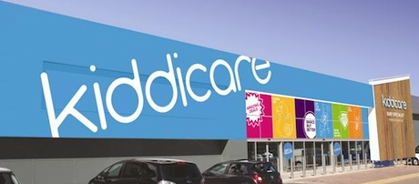 Kiddicare store entrance