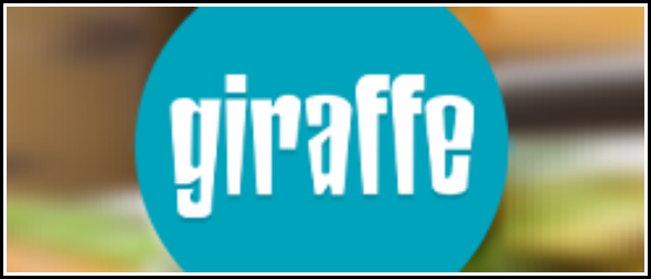 Review: Giraffe Restaurant Chelmsford