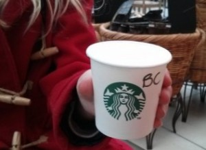 Starbucks Babyccino - Taken from an article about secret menu items in Starbucks by DannyUK.com