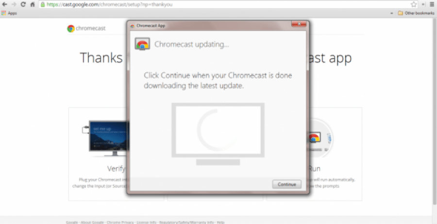 how to set up new wifi on chromecast
