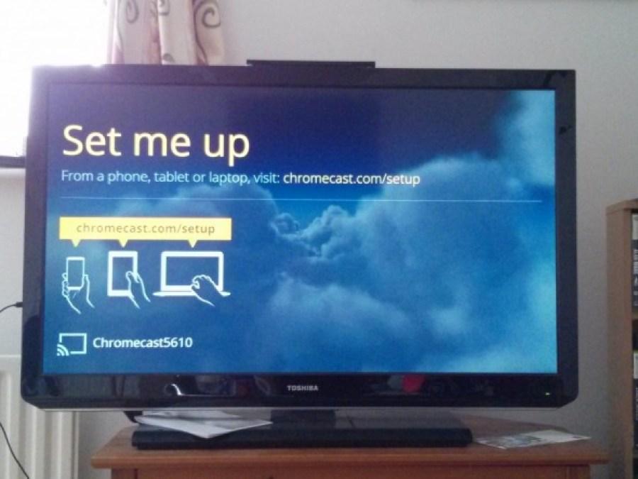 Google Chromecast set up - tv instructions - Taken from the Google Chromecast review by DannyUK.com