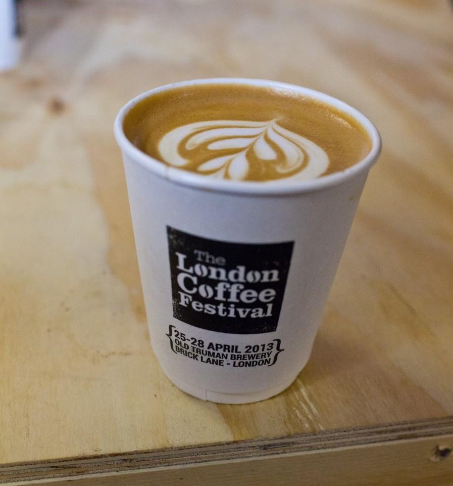 London Coffee Festival coffee