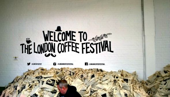 London Coffee Festival review 2014 Welcome bags