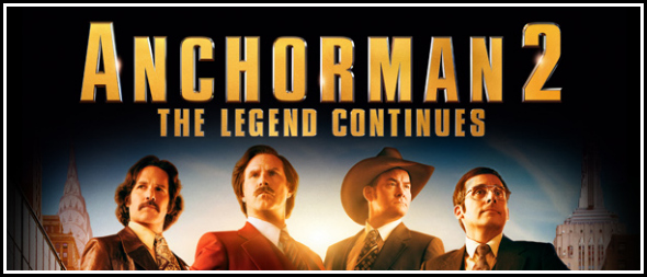 Anchorman 2 goody bag giveaway!