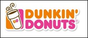 Dunkin Donuts logo header