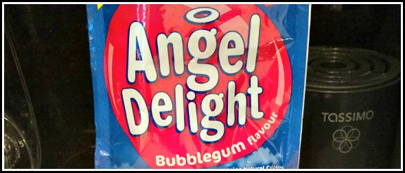 Bubblegum flavour Angel Delight?!