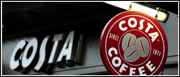 Free Costa points – Get free coffee