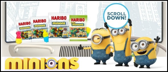 Win Minions merchandise and new Haribo Minions