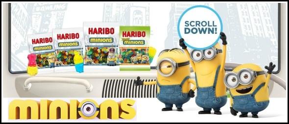 Win Minions merchandise and new Haribo Minions