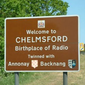 Chelmsford sign