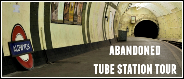 Planning an abandoned tube station tour