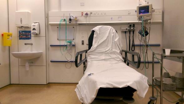 Broomfield Hospital bed