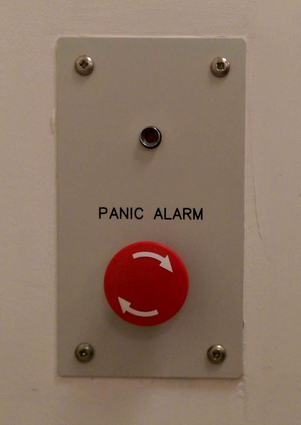 Broomfield Hospital panic alarm