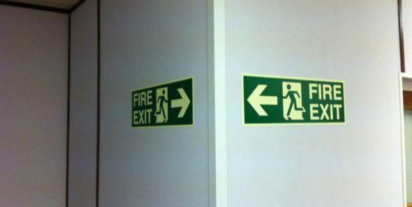 Fire Exit fail