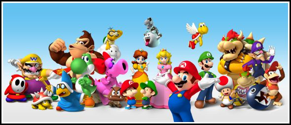 Christmas with Nintendo for kids young and old!