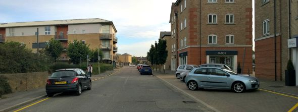 Parking in Wharf Road Chelmsford