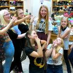 My Sunday Photo – Eldest celebrating at Lush