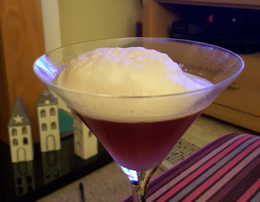 When French Martinis go wrong - Taken from the DannyUK.com article Moments of the Month - Nov 2015