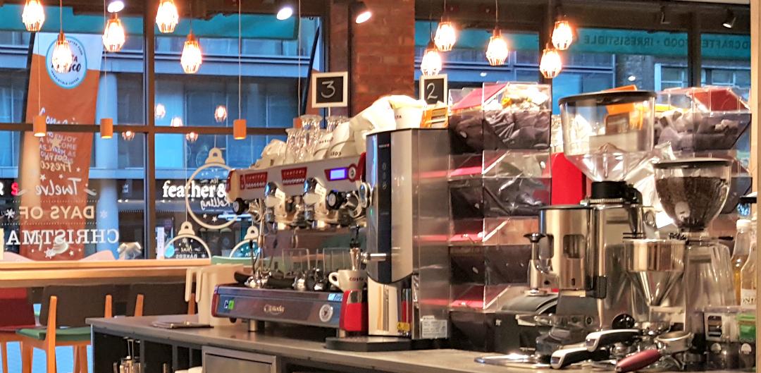 Costa Fresco - three barista stations - Taken from a DannyUK.com article