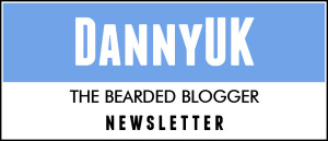 DannyUK Newsletter header