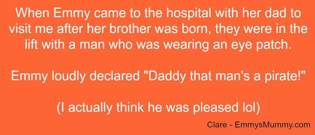 Embarrassing Children - Clare - Taken from a DannyUK.com article