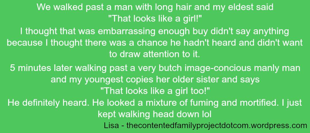 Embarrassing Children - Lisa 2 - Taken from a DannyUK.com article