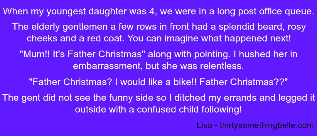 Embarrassing Children - Lisa - Taken from a DannyUK.com article