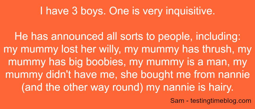 Embarrassing Kids - Sam