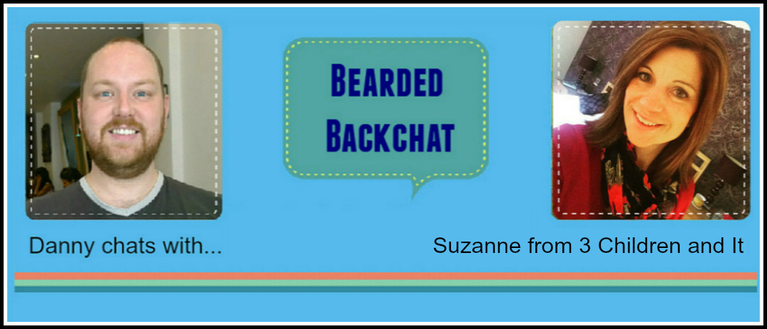 Bearded Backchat with 3 Children and It's Suzanne