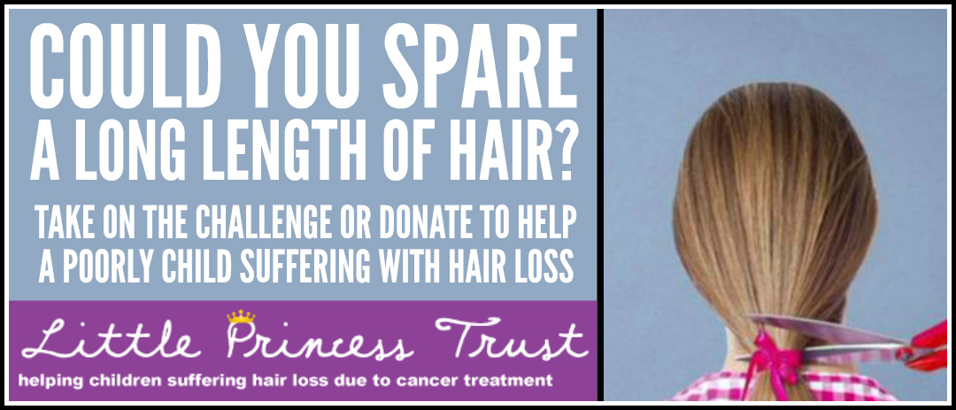 Hair to Spare – Eldest daughter donates to Little Princess Trust