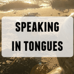 Doughnut Productions' Speaking in tongues