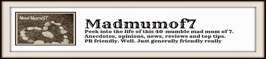 madmumof7.com - Mad Mum of 7 blog header