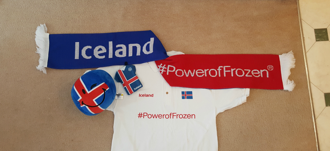 Football Feast - Supporting Iceland in Euro 2016 - Iceland - #PowerofFrozen goodies