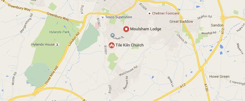 Tile Kiln and Moulsham Lodge