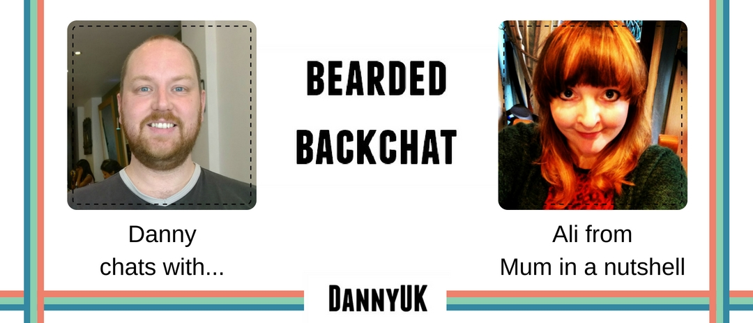 Bearded Backchat with Ali from Mum in a nutshell