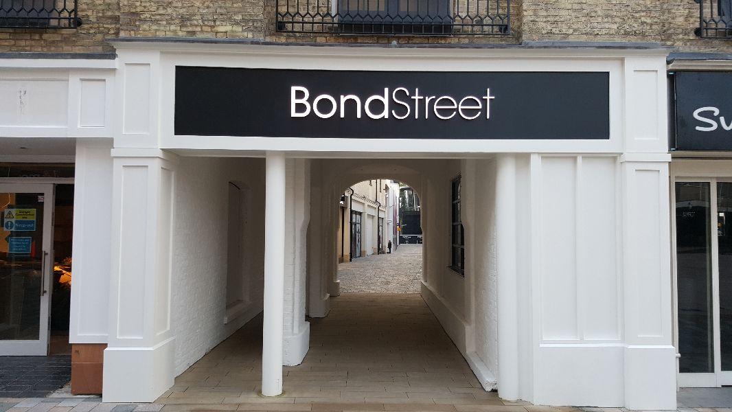 Bond Street, Chelsmford - High Street entrance